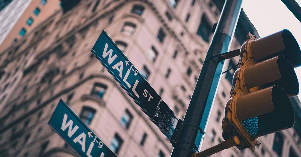 Wall street buildings